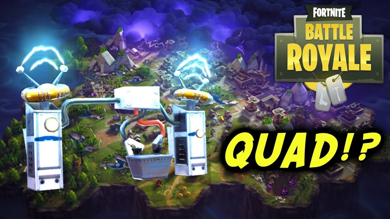 WALL DYNAMO QUAD Fortnite Battle Royale 6 Eliminations