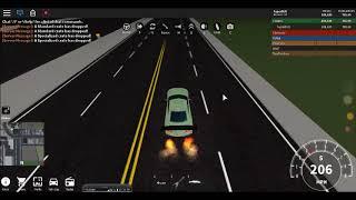 BREAKING 320 MPH IN A GTR | ROBLOX VEHICLE SIM