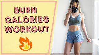 BURN THOSE CALORIES! | At Home Cardio Workout | No Jumping