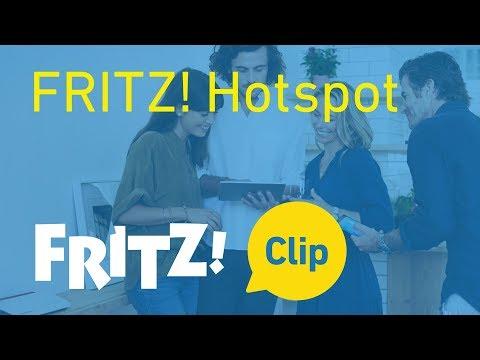 FRITZ! Clip – De FRITZ! Hotspot voor je gasten