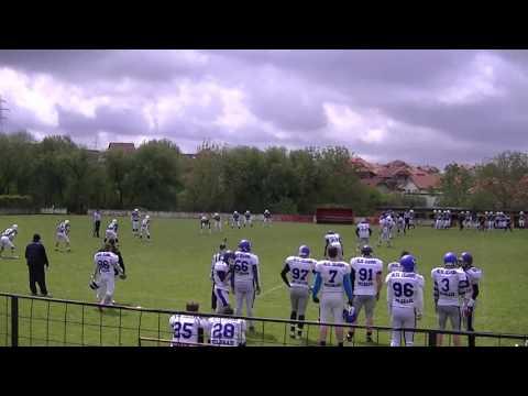 3. kolo PLS: Beograd Blue Dragons - Sremska Mitrovica Sirmium Legionaries 1. poluvreme