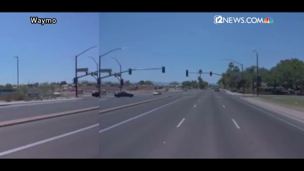 Videos: See autonomous vehicle crash+take a 360-degree ride