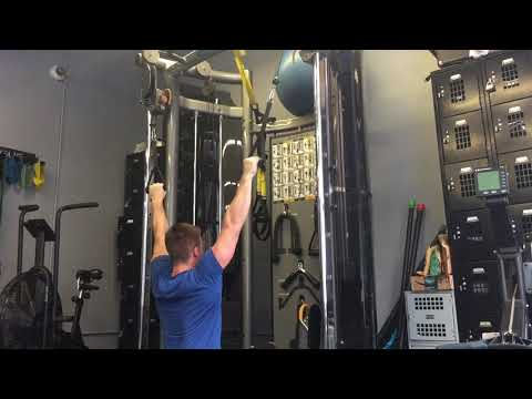 Two Arm Cable Lat/Back Pulldown - Functional Strength and Fitness Exercises