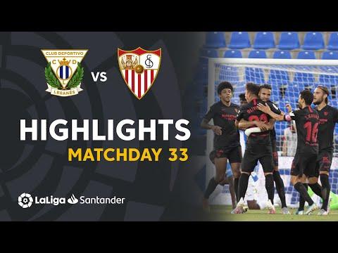 Leganes Sevilla Goals And Highlights
