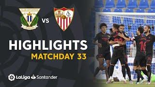 Highlights CD Leganés vs Sevilla FC (0-3)