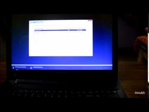 How To Install Windows 7/8/8.1/10 From DOS
