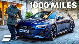NEW Audi RS6: 1000 Mile Review - Ultimate Long Distance Relationship | 4K