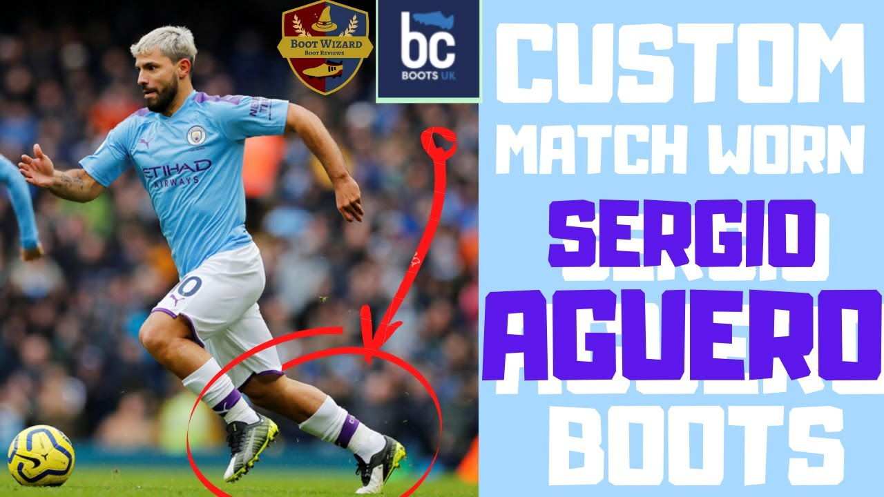 I Have Sergio Aguero's Match Worn Custom Pro Puma One 5.1 Football Boots! And They're Insane!
