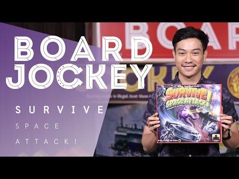 BOARD JOCKEY - SURVIVE: Space Attack!