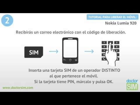Como desbloquear un celular nokia lumia 920