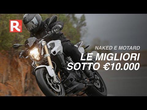 Le Migliori Naked E Motard Medie A Meno Di 10.000 Euro