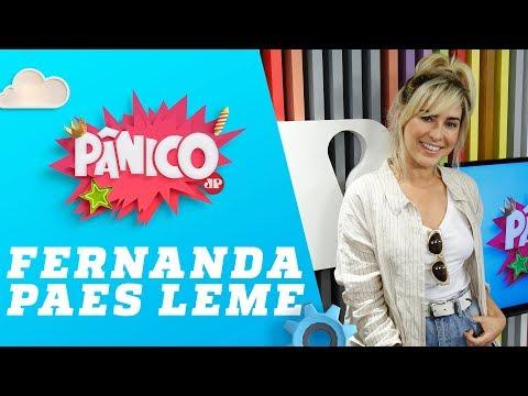 Fernanda Paes Leme - Pânico - 02/05/2018