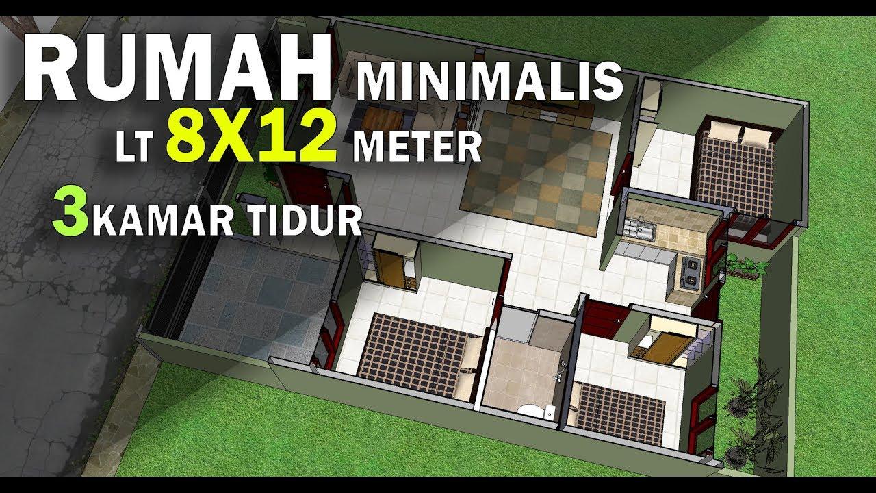 660+ Gambar Rumah 2 Lantai Ukuran 8 X 12 HD Terbaik