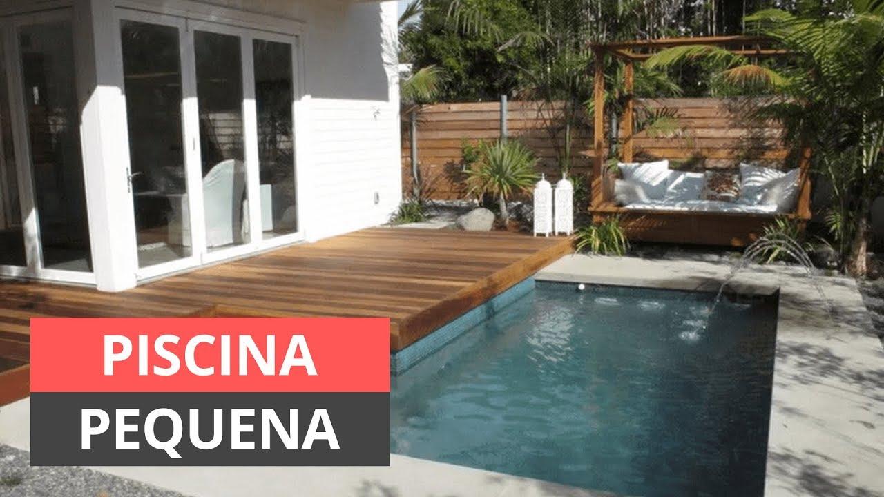 Piscina pequena 8 dicas de como construir no quintal for Como hacer una piscina pequena en casa