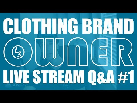 How To Start A Clothing Brand | Clothing Brand Owner Q&A #1