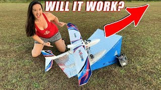 RAMPING RC PLANE!! - YOU WON'T BELIEVE WHAT HAPPENS! - TheRcSaylors