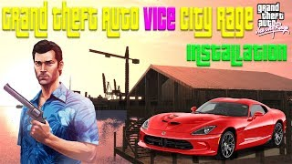 GTA Vice City Ultra Remastered Graphic Rage Mod installation Guide