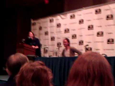 Tom felton at Chicago comic con 2012