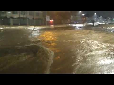 Inundação na Avenida Vilarinho - Novembro 2018