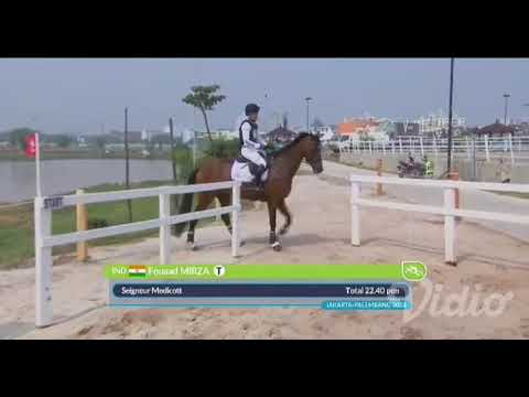 Cross Country Asian Games 2018 Fouaad Mirza IND