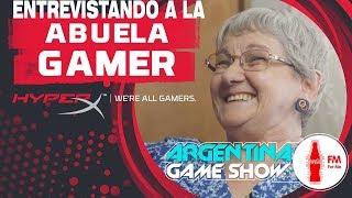"Entrevista a la ""ABUELA GAMING"" Argentina Game Show!!!"