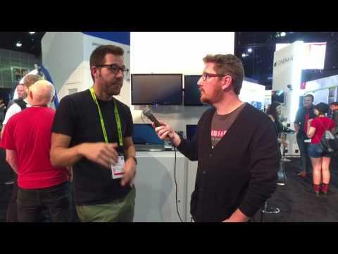 Siggraph 2017 Interview - Cinema 4D Tutorial Artist Nick Campbell of Greyscalegorilla.com