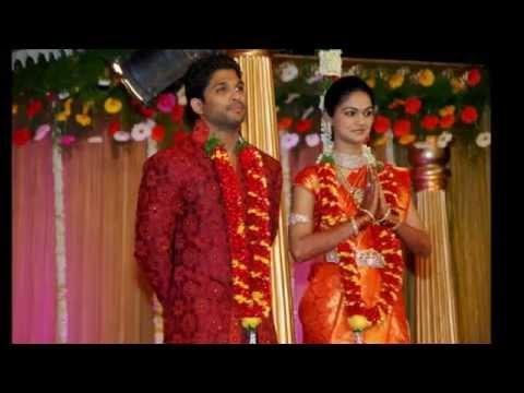Allu Arjun wedding unseen photos