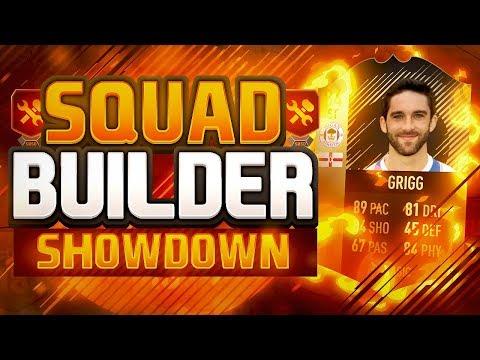 WILL GRIGG SQUAD BUILDER SHOWDOWN!! - GREATEST FIFA 18 SQUAD BUILDER SHOWDOWN!!
