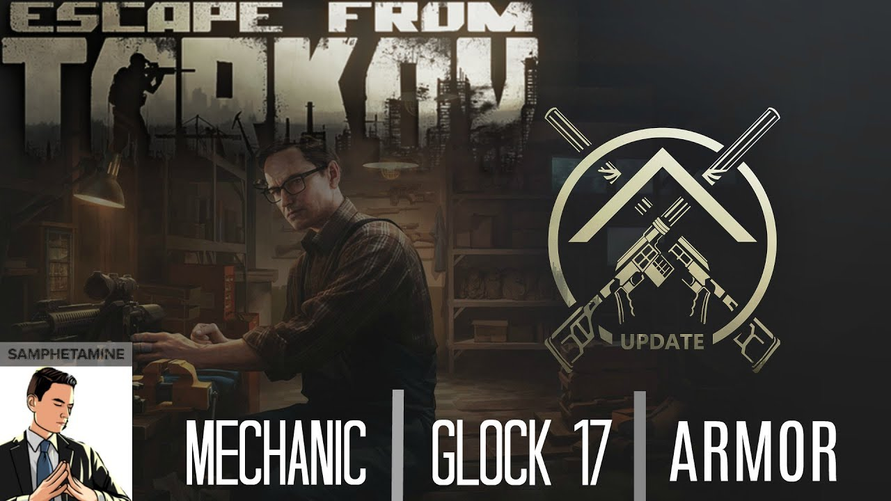 UPDATE - Mechanic, Glock 17, Magpul on AS-Val, 6B47 helmet, Patch notes