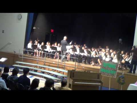 Northvale Schools, Spring Concert 2016 - Wind Ensemble - Song 4&5, Snake Charmer and Low Rider