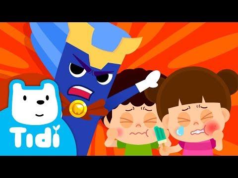 Chika Chika Toothbrush-Man ♪ Brush You Teeth   Tooth Brushing Song    Good Habits ★Tidi Kids