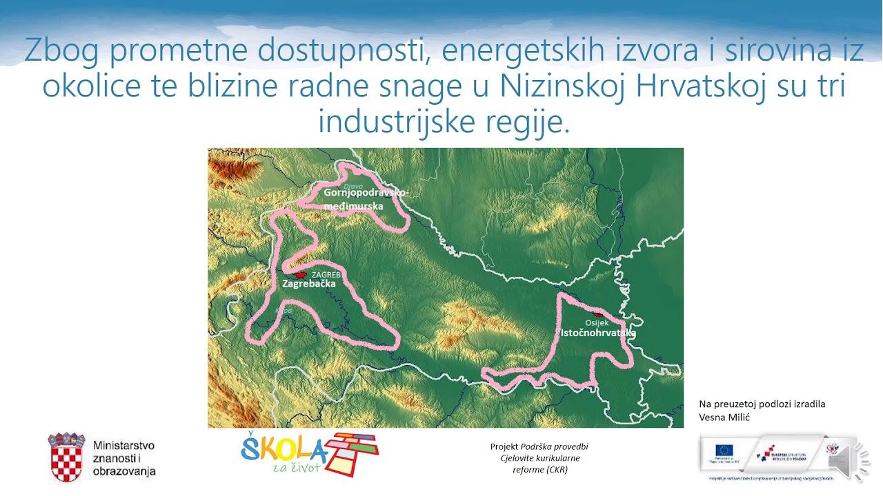 Geografija 8 R Os Nizinska Hrvatska Youtube