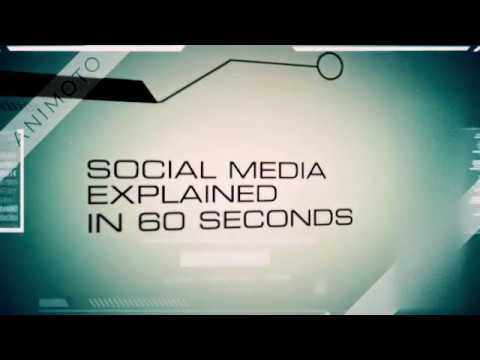 SOCIAL MEDIA EXPLAINED IN 60 SECONDS