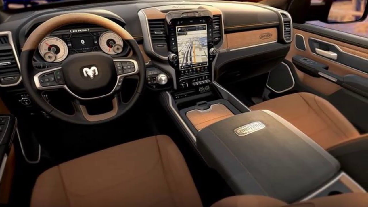 2019 Ram Laramie Longhorn Edition Design Interior - YouTube