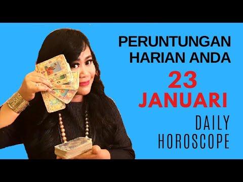 PERUNTUNGAN ZODIAC ANDA HARI INI | 23 JANUARI 2019 - DAILY HOROSCOPE | Endang Tarot (Indonesia)