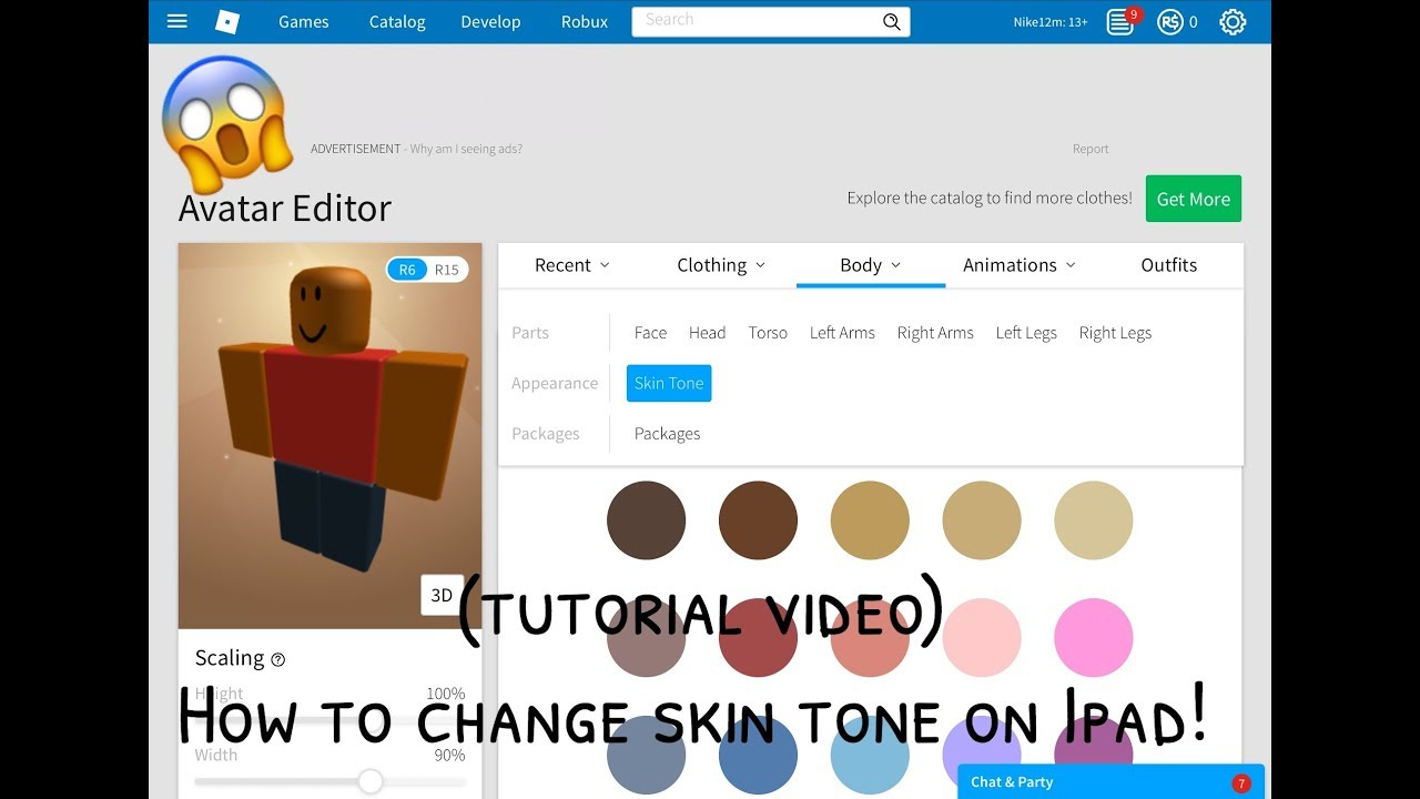 How To Change You Re Skin Tone On Ipad Tutorial Video Youtube