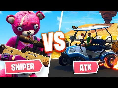 SNIPERS vs STUNTERS!! *New Game Mode* (Fortnite Battle Royale)