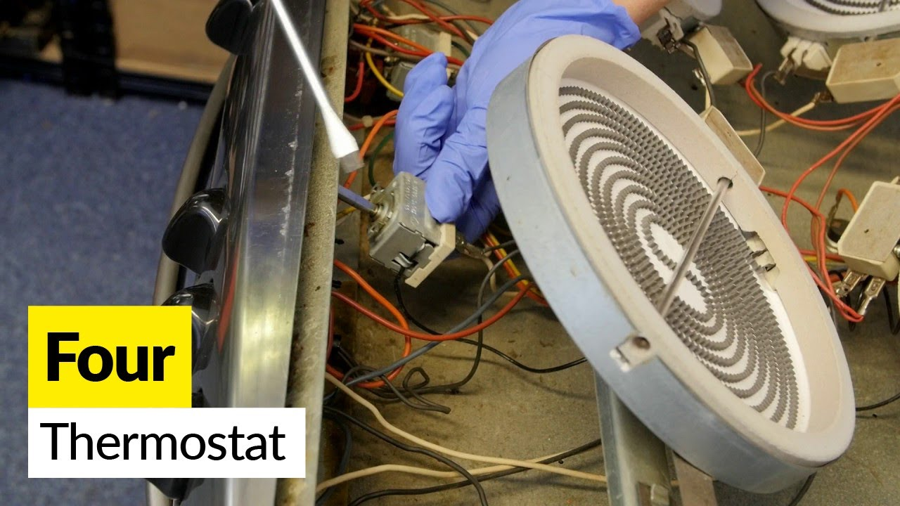 Demonter Plaque De Cuisson Electrique comment changer le thermostat de votre cuisinière Électrique