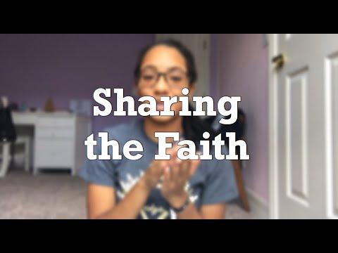 Sharing the Faith | Evangelizing
