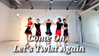 Come On, Let's Twist Again Line Dance (Demo&Count)