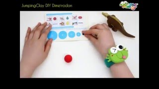 Jumping Clay Tutorial - How to make a Dimetrodon