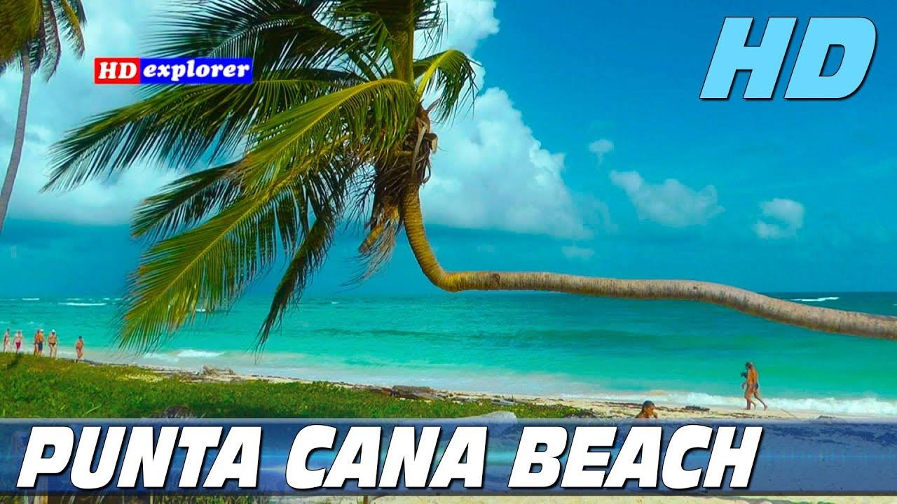 bavaro beach punta cana dominican republic youtube