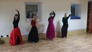 Испанский танец с веером. Результат 10 занятий