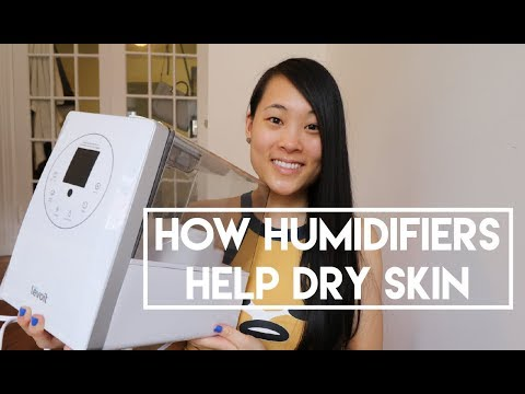 How Humidifiers Help Dry Skin
