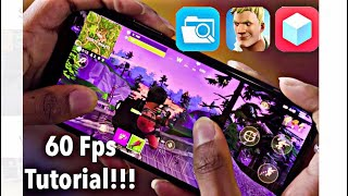 HOW TO GET 60FPS ON ANY FORTNITE MOBILE DEVICE!! QUICK AND SIMPLE METHOD NO PC!!! (NOT CLICKBAIT)