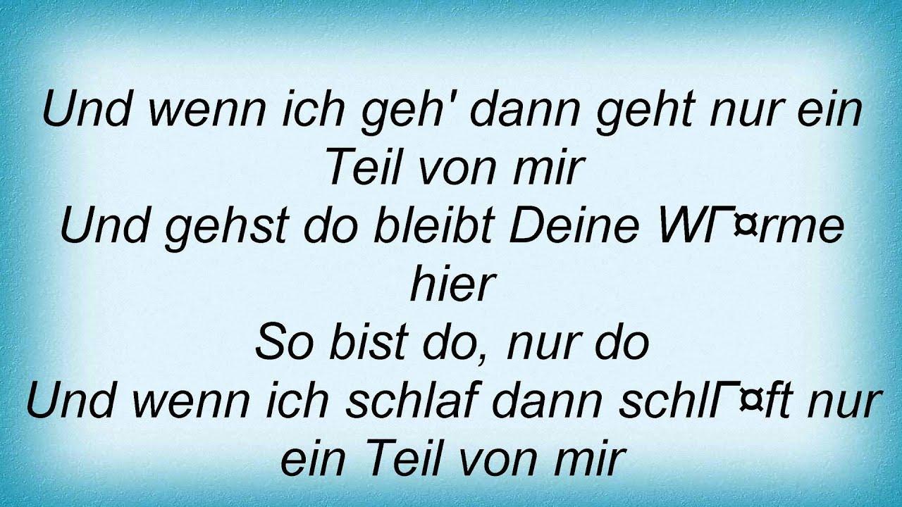 15984 Oli P So Bist Du Lyrics Youtube