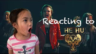 THE HU   SEVEN YEAR OLD REACTS   SONG OF WOMEN FT. LZZY HALE
