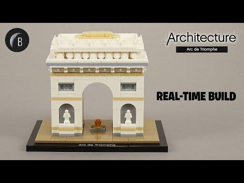 LEGO 21036 - Arc de Triomphe - Architecture - Build Review