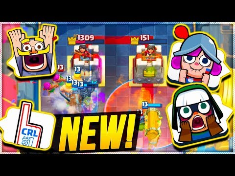 FREE NEW EMOTES in CLASH ROYALE HYPE!!