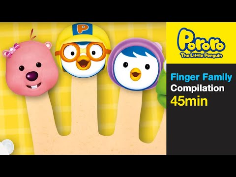 Thumbnail: [Pororo Nursery Rhymes] Finger Family and More (45min)